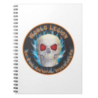 Legion of Evil Dental Hygienists Notebook