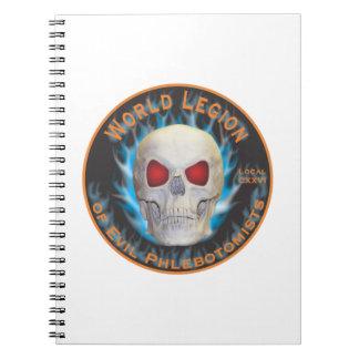 Legion of Evil Phlebotomists Notebook