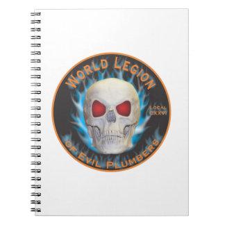 Legion of Evil Plumbers Notebooks