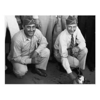 Legionnaires in Louisiana, 1938 Postcard