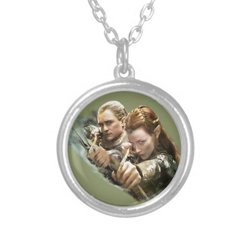LEGOLAS GREENLEAF™ and TAURIEL™ Graphic Pendants
