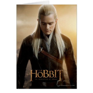 LEGOLAS GREENLEAF™ Character Poster 2 Greeting Card