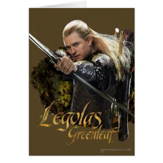 LEGOLAS GREENLEAF™ Drawing Bow Graphic Greeting Card