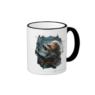 LEGOLAS GREENLEAF™ Graphic Ringer Coffee Mug