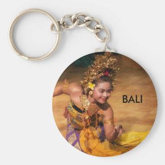 LEGONG - BALI INDONESIA BASIC ROUND BUTTON KEYCHAIN