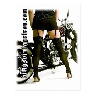 Legs & Iron Postcard