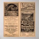 Lehigh Valley Railroad Poster