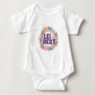 Lei And Rest Baby Bodysuit