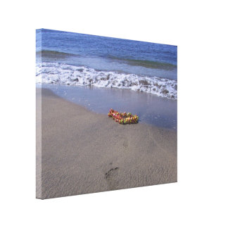 Lei at the Beach Canvas Print