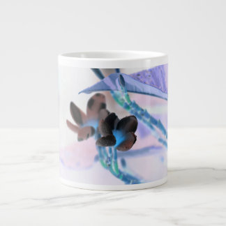 lei invert flower pastels neat flower design jumbo mugs
