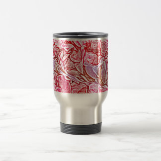 lei sketch pink flowers abstract neat background coffee mugs
