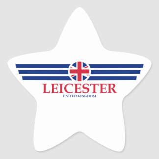 Leicester Star Sticker