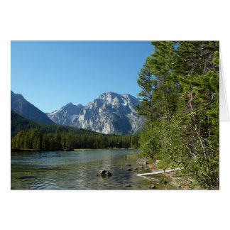 Leigh Lake at Grand Teton National Park Card