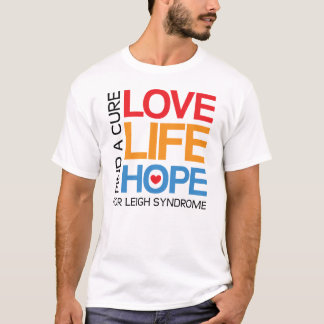 Leigh syndrome awareness t-shirt - find a cure