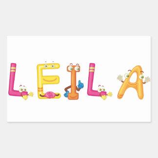Leila Sticker