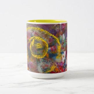 Leila Two-Tone Coffee Mug