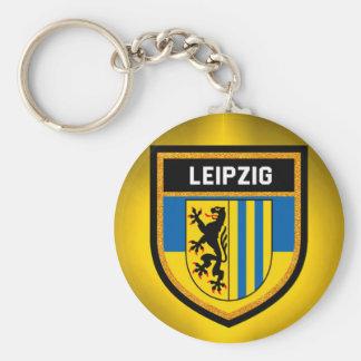 Leipzig Flag Keychain