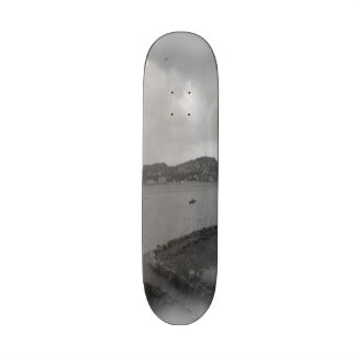 Leirvik photo skate board deck