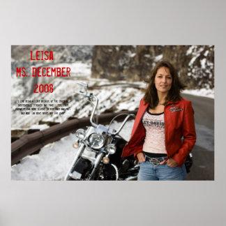 Leisa, Ms. December 2008 Poster