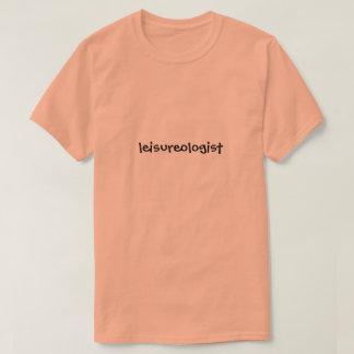 Leisureologist funny retirement T-Shirt
