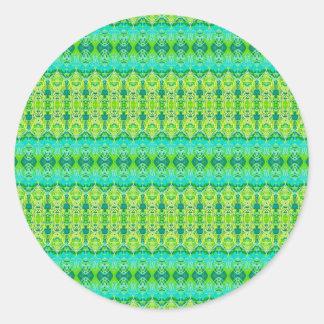leisures creative classic round sticker