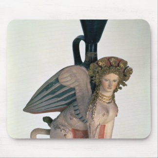 Lekythos in the form of a Sphinx Mouse Pad