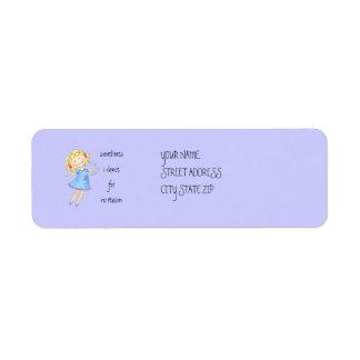 LeLe Dance Cuz U Wanna Return Address Labels
