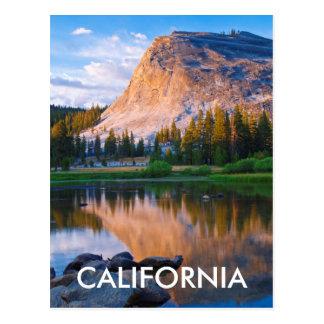 Lembert Dome scenic, California Postcard