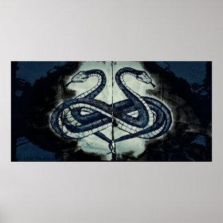Lemniboros Serpens Rorschach Poster 002