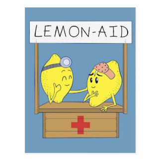 Lemon Aid Postcard