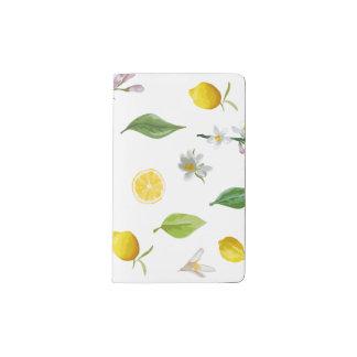 Lemon and Floral Moleskine Journal