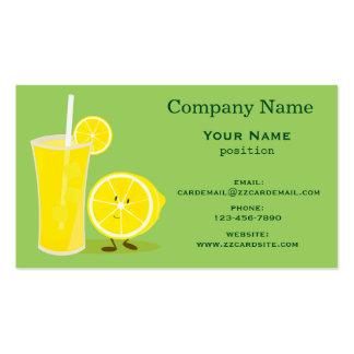Lemon and Lemonade Business Card