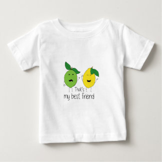 Lemon and Lime Best Friends Baby T-Shirt