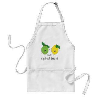 Lemon and Lime Best Friends Standard Apron