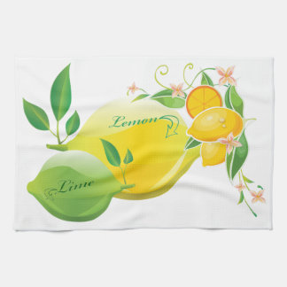 Lemon and Lime Kitchen Towel
