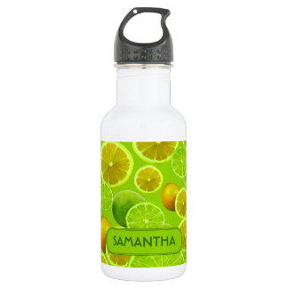LEMON AND LIME PERSONALIZE .. 532 ML WATER BOTTLE