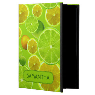 LEMON AND LIME PERSONALIZE iPad AIR CASE