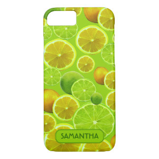 LEMON AND LIME PERSONALIZE iPhone 8/7 CASE
