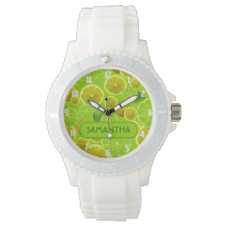LEMON AND LIME PERSONALIZE WATCH