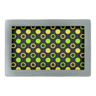 Lemon and Lime Rings and Polka Dots by STaylor Belt Buckles