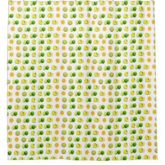 Lemon and Limes Shower Curtain