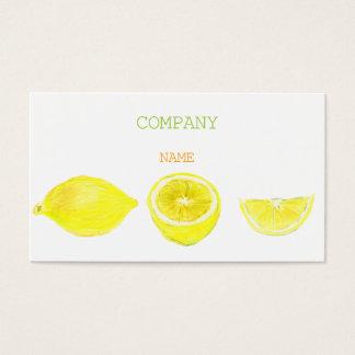 LEMON BUSINESSCARD BUSINESS CARD