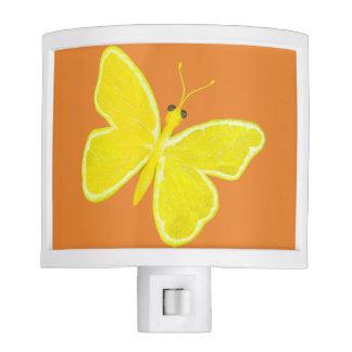 Lemon Butterfly Night Lite