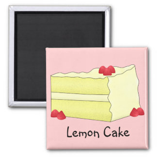 Lemon Cake Magnet
