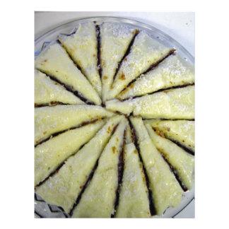Lemon cake, semi-spiral cut custom flyer