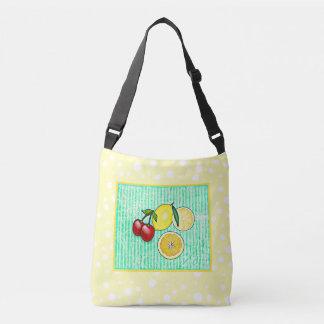 Lemon, Cherries Oranges Lime Green Yellow Tote Bag