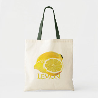 Lemon Citrus Tote Bag
