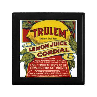Lemon commercial gift box