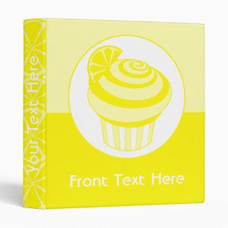 Lemon Cupcake Binder