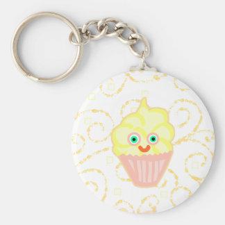 Lemon Cupcake Buddy! Keychain
